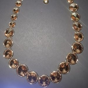 Henri Bendel Gold Collar Necklace